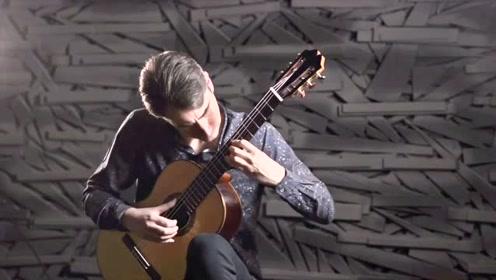 古典吉他演奏邓丽君《月亮代表我的心》回味经典
