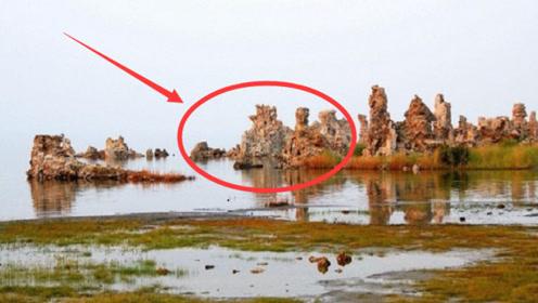 江苏大旱湖水干枯,湖边露出石柱,专家激动大喊:终于找到了