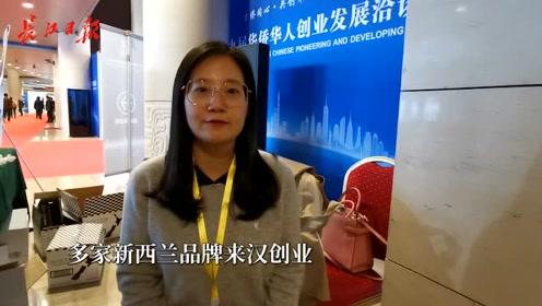 华创会上的新西兰华人:巴不得武汉的好全世界都知道
