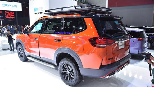 国产终于不负众望!新车比普拉多还霸气,长5005mm,2.0T带四排气