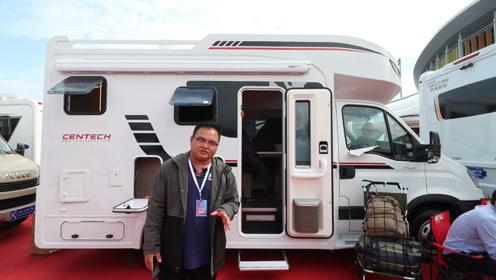 中天新季风T型房车,老品牌高颜值,欧胜8AT小额头+三张床铺