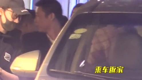 陈伟霆《追我吧》节目停录,乘车前往机场