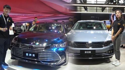 亚洲龙横空问世 新迈腾抢手依旧 论什么才是一台B级车应该有的气质