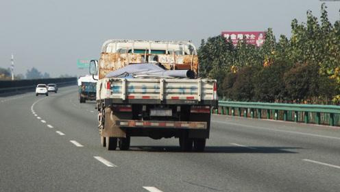 轻卡上高速限载18吨?别做梦,只是设备还没有配备到位