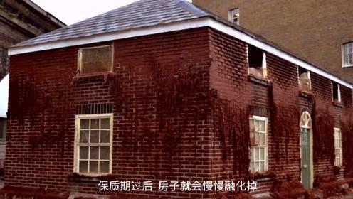 老外用8000块蜡砖建房,30天后化成蜡油,艺术家的世界不懂!