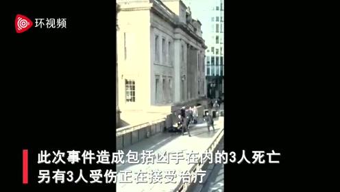 伦敦恐袭现场视频