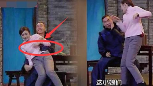 秦岚节目中被揩油乱摸?当场发飙甩了两耳光,网友:第二个张雨绮