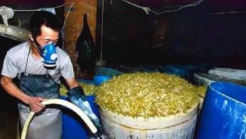 比地沟油还要脏的冒牌货,被人们当成营养品,还经常给孩子吃!