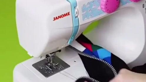 生活窍门:用以下打布机制作出不一样的衣服,非常好看