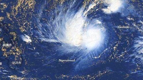 """16级台风""""北冕""""登陆菲律宾,风力持续增强,即将登录我国!"""