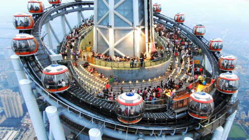 450米世界最高摩天轮,就在中国广州,坐上去才明白多震撼