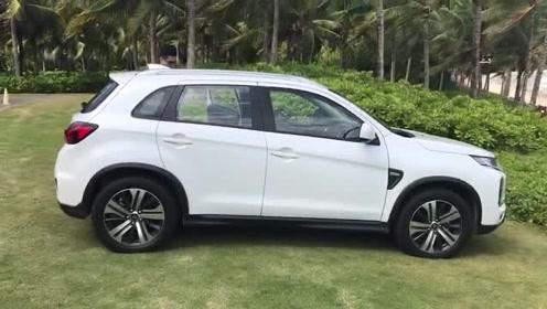 新车抢鲜看:广汽三菱劲炫ASX侧身设计,轮毂尺寸升级