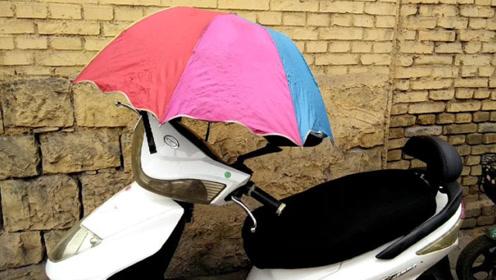 冬季你还给电动车上装东西吗?可惜知道的人太少了,提醒家人,别忽视