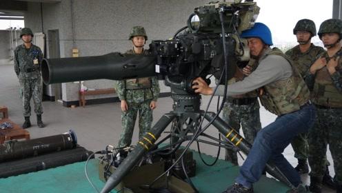 """防蔡英文被""""斩首"""",台军部署400枚本土造反坦克导弹"""
