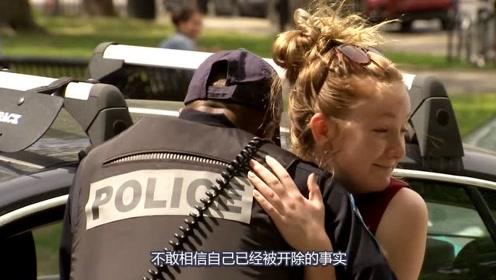 正在检查的警察突然被开除!事情太突然警察很难过,可罚单还是要开!