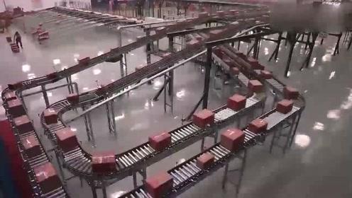 看到阿里巴巴的仓库后才知道什么叫牛,全是自动化的设备,厉害了