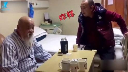 64岁李琦身体不佳住院,面容憔悴仍淘气自嘲:饿不死