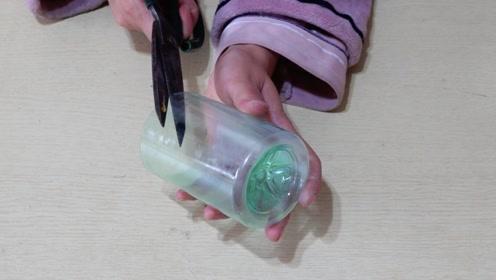 耳坠不用花钱买了,用家里的塑料瓶就能做出来,好看又实用