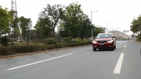 全新远景X6,驾驶起来除了舒适还有操控?