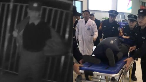 暖!高铁突然停车救人,患病女子不停喊冷,现场警察迅速脱下外套