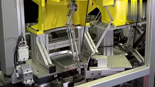 实拍德国的自动化加工厂,无需任何人干涉!这才是真正的高科技!