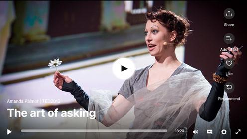 双语字幕TED演讲:拥有请求的艺术!