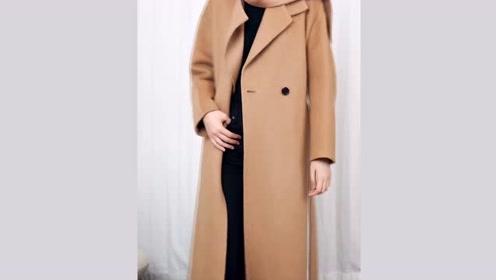冬季的大衣这样穿,自带气场