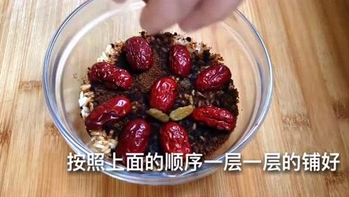 最近很火的糯米懒人吃法,软糯香甜、营养美味,比八宝饭还解馋
