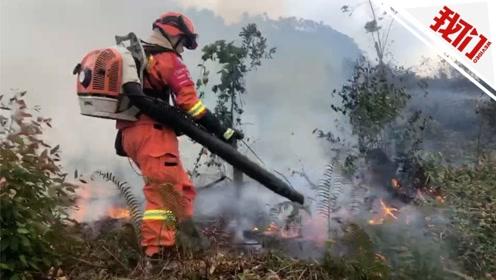 佛山森林火灾已被控制 市民熬红糖水连夜慰问消防员