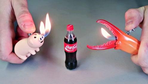 点火也得有仪式感!老外的6个奇葩打火机,看到猪鼻子喷火我笑了