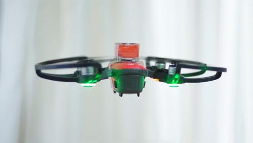 首款消费级无人机降落伞,0.19秒可自动弹出,风里雨里都没在怕的