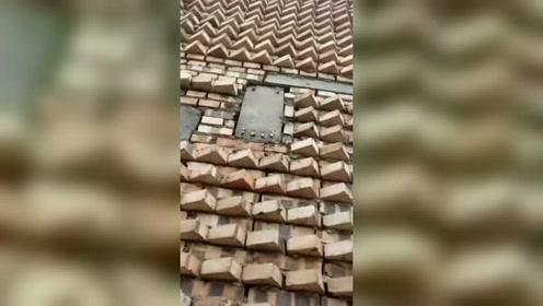这是谁设计的房子?告诉我,你和小偷是啥关系?