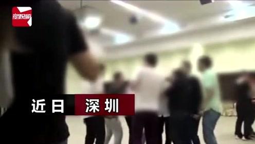深圳警方曝光传销洗脑现场:学员脱衣狂舞、互扇耳光