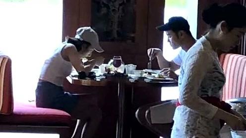恋情实锤?网友偶遇宋祖儿阮经天巴厘岛一起度假吃早餐