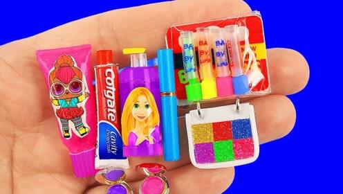 创意微型制作:做漂亮化妆盒  发卡