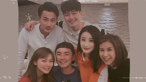 刘恺威未受前妻杨幂绯闻影响 与友人聚餐心情佳