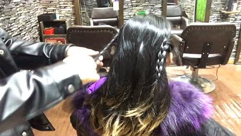 头发不长不短又不想剪怎么办,试试这款,走到哪回头率都高