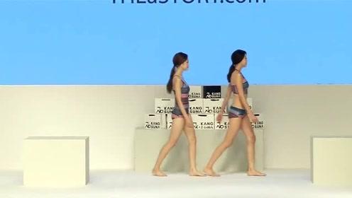 韩国气质美女走秀,时髦吊带设计,尽显少女心