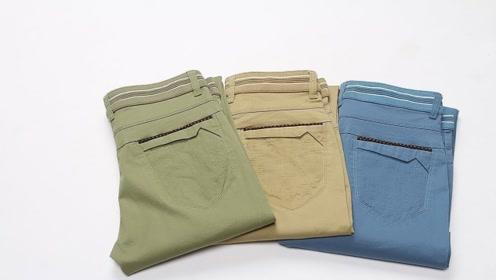 旧裤子简单改一改,成品很多美女都需要,学到轻松帮你省几百