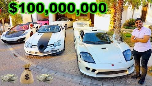 富可敌国的迪拜王子都有哪些豪车?果真是贫穷限制想象力!