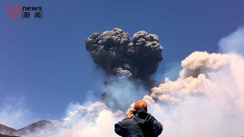喷发危险下,为何活火山能吸引大量游客?