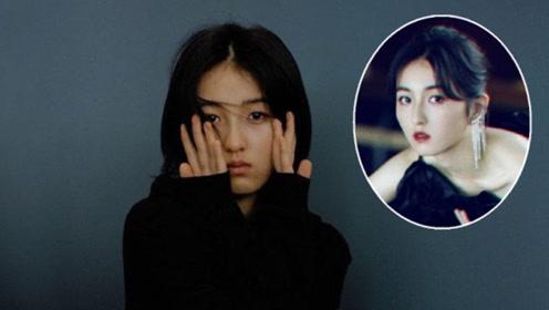 张子枫说自己不适合浓妆,助理非让她尝试,看到效果坚持对了
