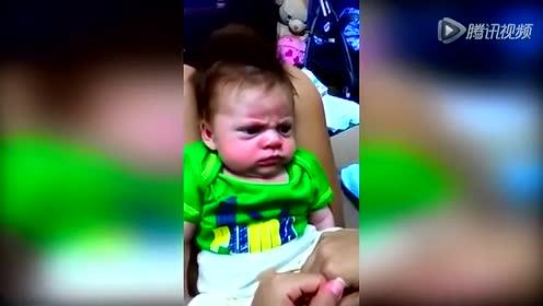 墨西哥宝宝天生恼怒脸 严肃表情逗翻网友