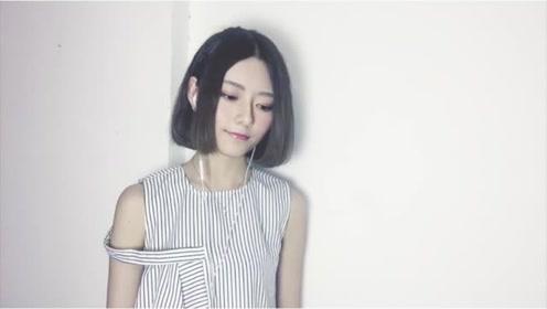 阿细温柔翻唱经典粤语歌《陪着你走》