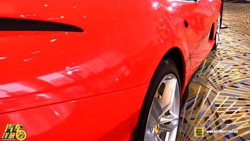 2018款法拉利812超级跑车亮相
