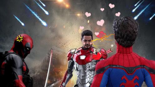 《蜘蛛侠英雄归来》史上最嫩小蜘蛛和死侍钢铁侠没羞没臊的真相