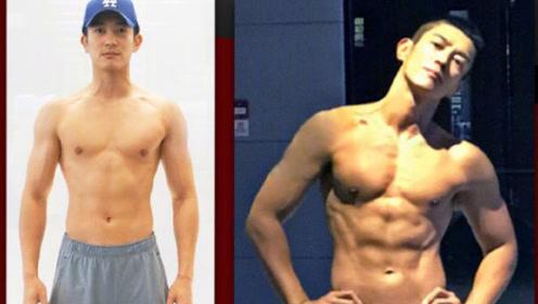 霍思燕曝杜江减肥记 21天练出八块腹肌身材完美