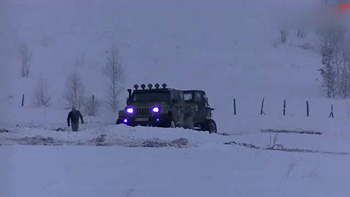 吉普牧马人 途乐等雪地越野实战