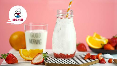 有春困综合征?让这款浪漫的草莓牛奶唤醒你