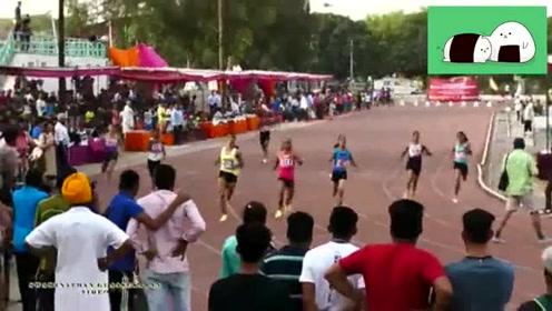 女子100米决赛,这场黑人的比赛非常壮观,这爆发力太赞了